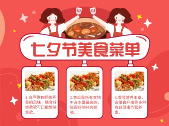 七夕/美食文章配图