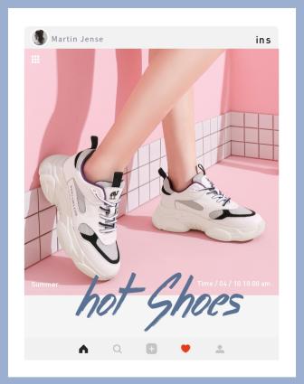 日常上新/活动促销/小清新/女鞋/店铺首页