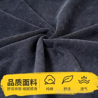 鞋服/男装/T恤/清新套系轮播主图4