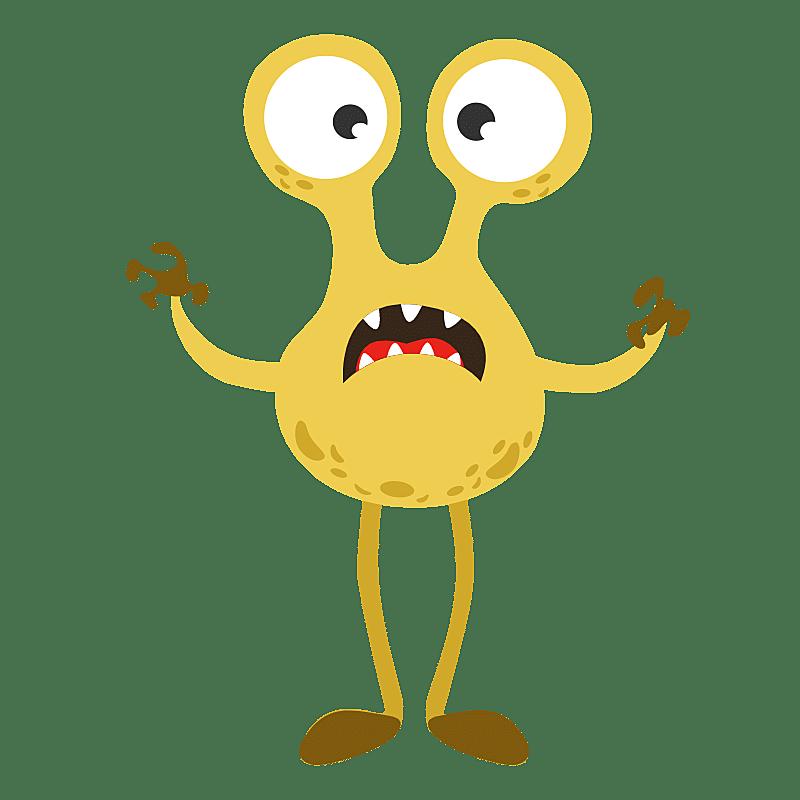 SVG-怪兽贴纸2