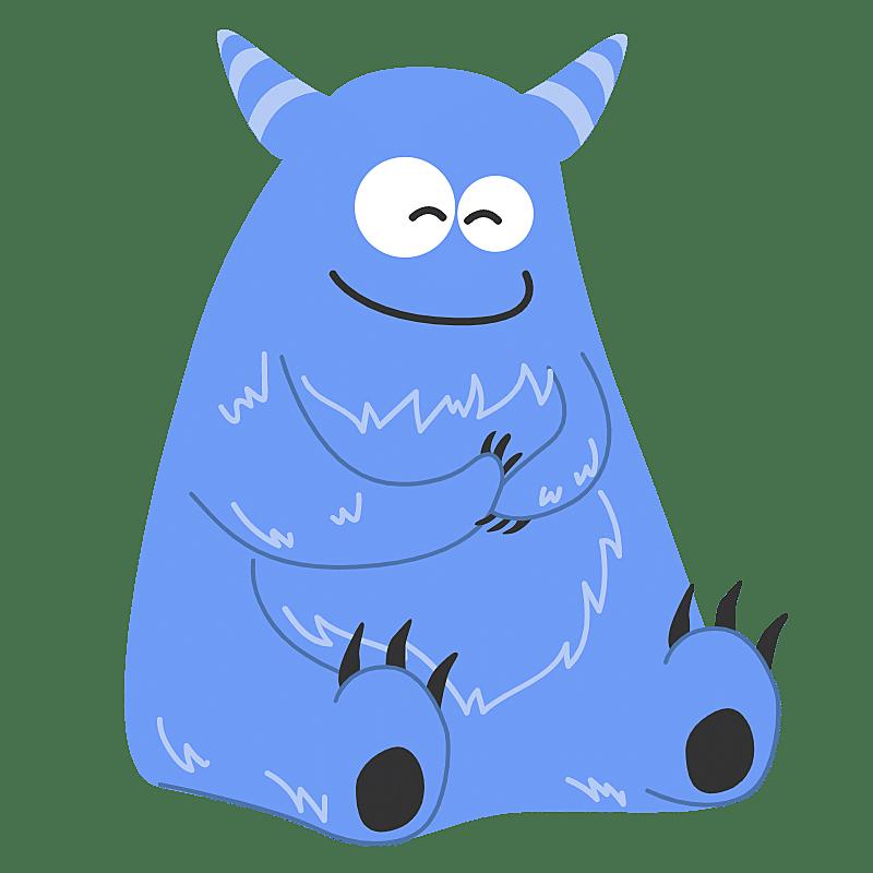 SVG-怪兽贴纸1