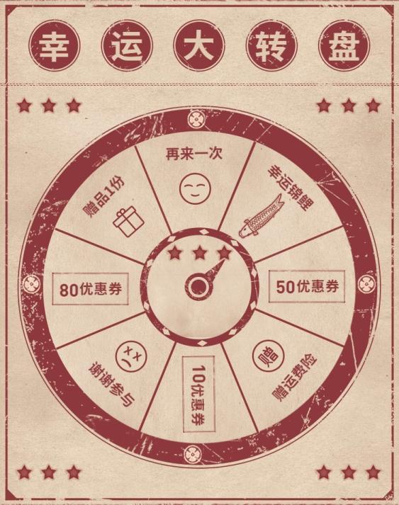 双十二/双12/店铺活动/抽奖转盘/海报banner