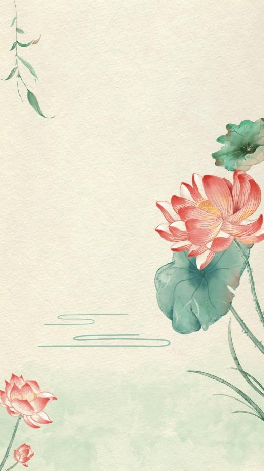 古风中国风插画手机壁纸