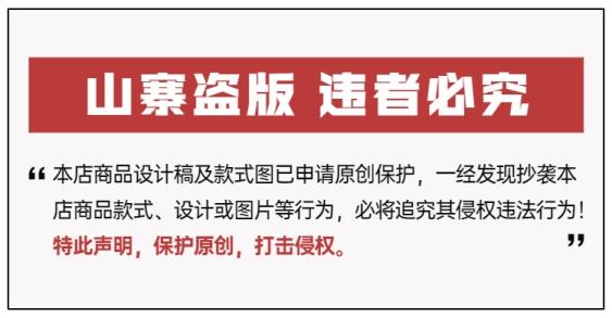 通用盗版必究防盗图说明海报banner