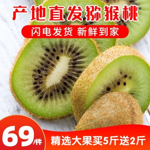 食品生鲜水果猕猴桃主图