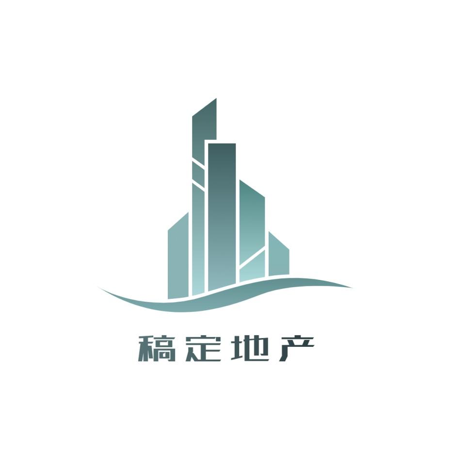 企业地产简约图形logo
