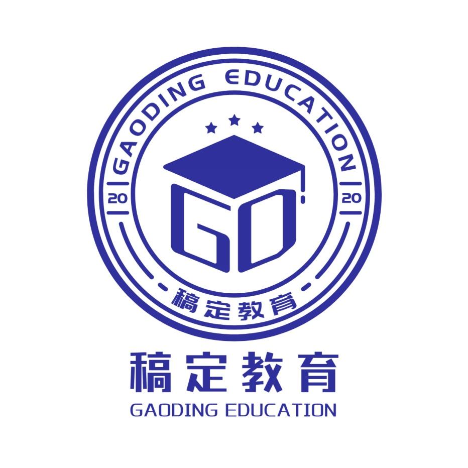 教育行业简约图形logo