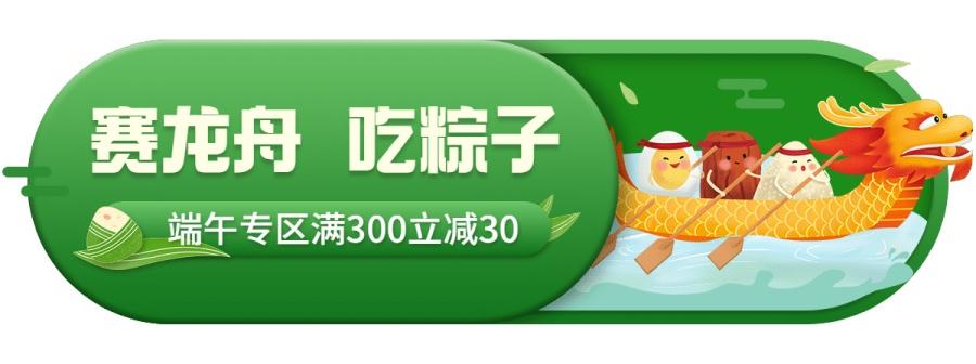 端午节促销活动胶囊banner