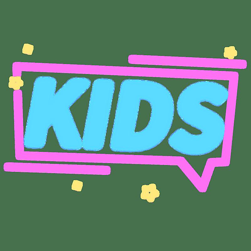 霓虹灯风-游戏风文字4-KIDS