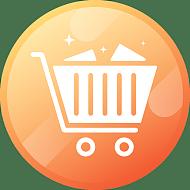 ICON-矢量购物车电商图标15