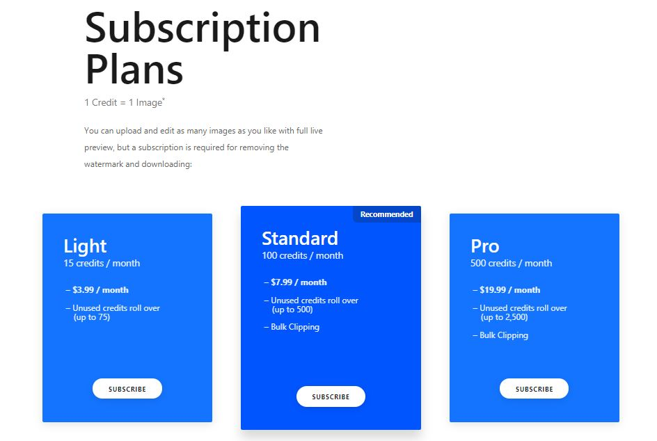 clipping-magic-subscription-plans