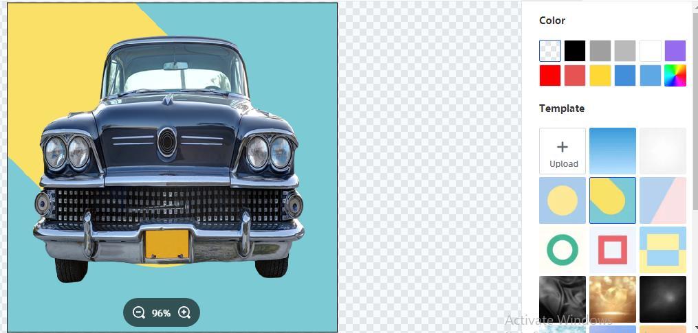 change image background