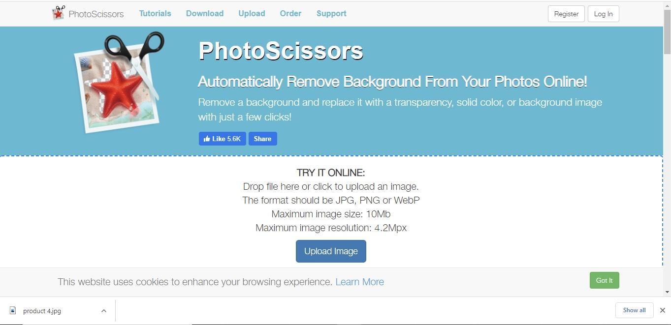photoscissor interface