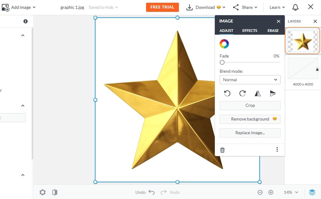 picmonkey click layers icon
