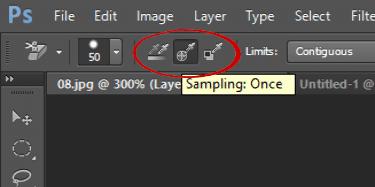 select sampling once