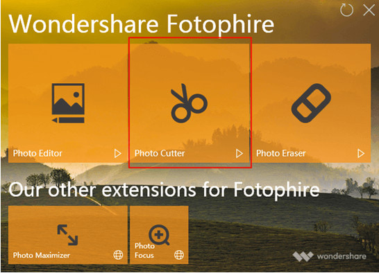 fotophire photo cutter