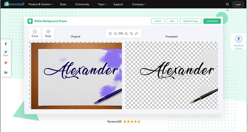 apowersoft online background eraser