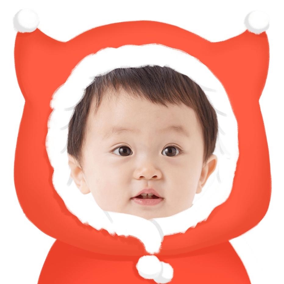 可爱的baby微信头像
