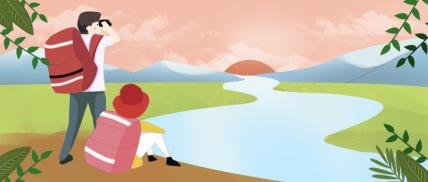 插画/旅行公众号首图