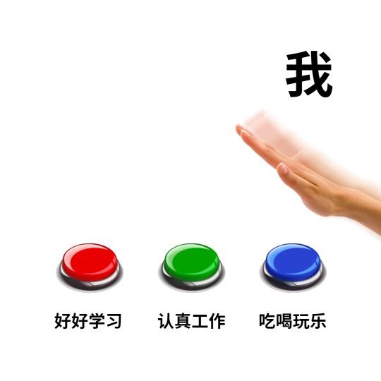 选择按钮趣味公众号方形文章配图