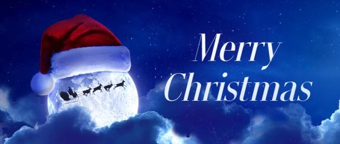 圣诞节平安夜圣诞老人节日祝福公众号首图