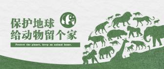 保护地球宣传公众号首图