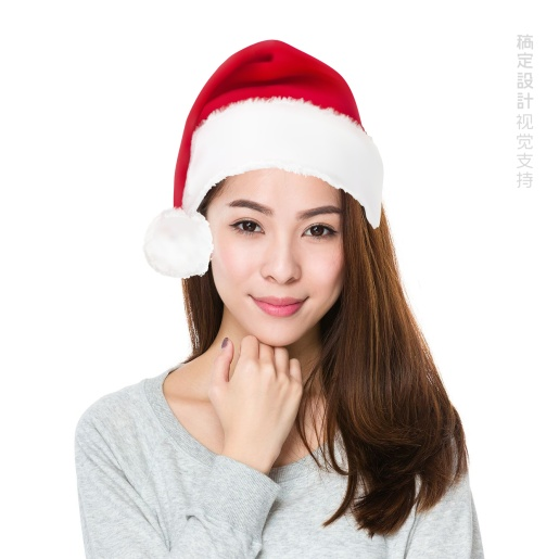 圣诞头像 真实圣诞帽
