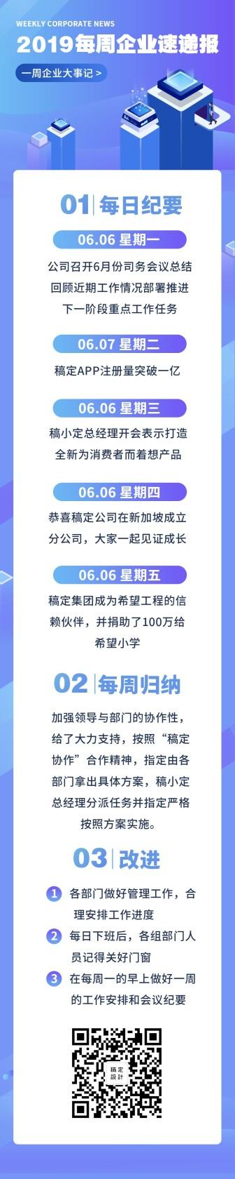 2019每周企业速递报文章长图