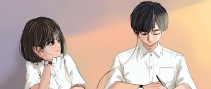 七夕情人节情侣甜蜜插画日常公众号首图