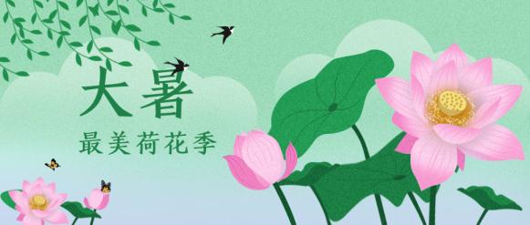 大暑/夏天/中国风公众号首图
