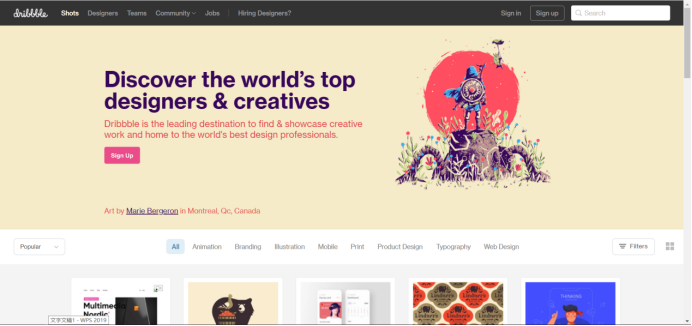 为艺术家和设计师推荐的多个最佳设计作品集网站(下)