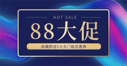 88会员/88促销/88全球狂欢海报