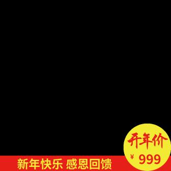 春节折扣主图图标