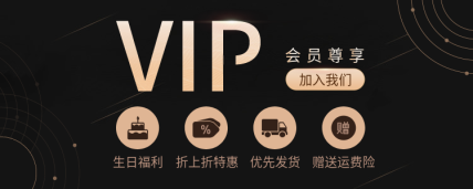 VIP会员卡海报