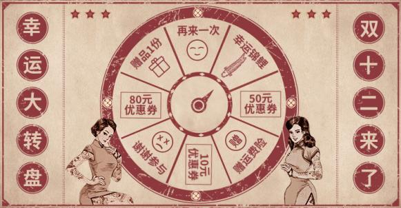 店铺活动/抽奖转盘海报