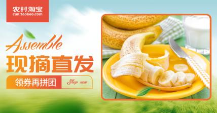 农村淘宝水果海报