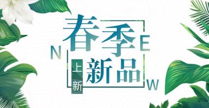 春季上新/新品上市海报