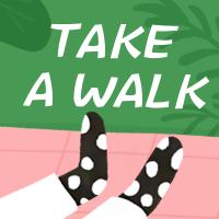 TAKE A WALK公众号次图