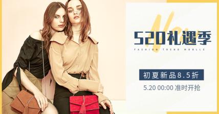 520礼遇季/女包海报