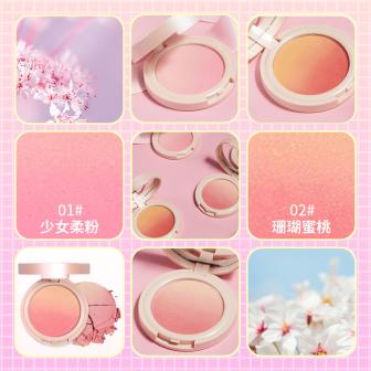 美容美妆/腮红/少女/可爱套系轮播主图1