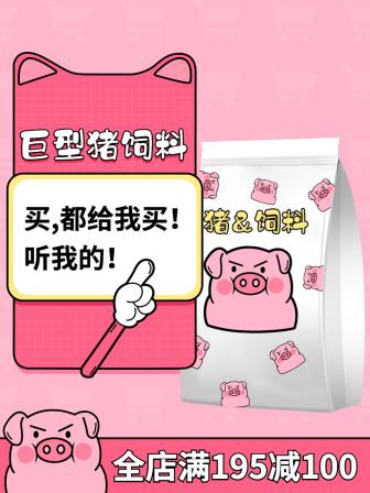 美食零食/猪饲料/趣味搞怪/套系轮播主图1